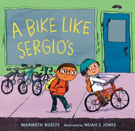 A Bike Like Sergio's Book Cover
